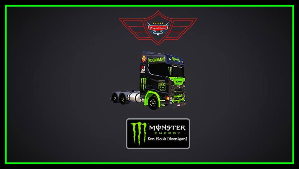 SKINS SCANIA S730 MONSTER