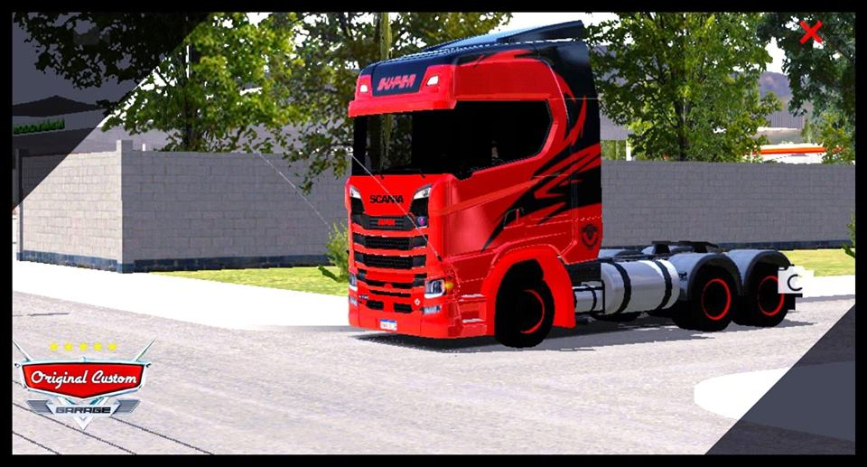 SKINS SCANIA S730 CARNAGE
