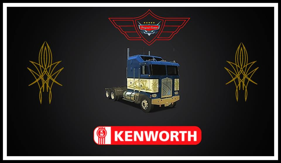 SKIN K100 KENWORTH PINSTRIPING ART