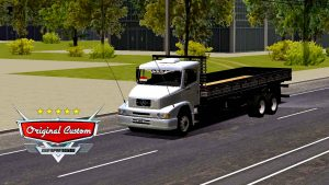 SKIN MERCEDES-BENZ MB-1620 PRATA QUALIFICADO