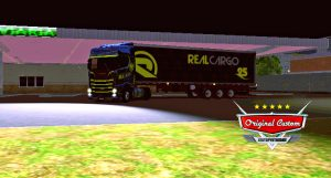 SKIN SCANIA S730 SUPER REAL CARGO