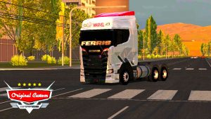 SKIN SCANIA S730 MARVEL