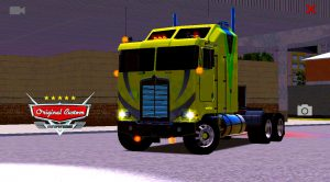 SKIN K100 KENWORTH AMARELO QUALIFICADO
