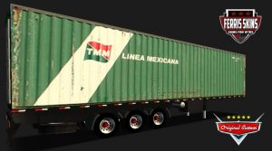 "CONTAINER ""LINEA MEXICANA"""