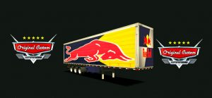 SKIN SCANIA S SPECIAL RED BULL