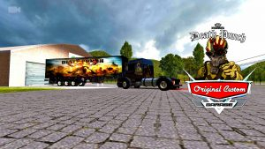 SCANIA 113H Five Finger Death Punch