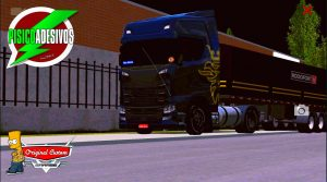 SCANIA S BLACK GOLD