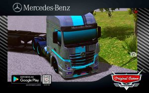 SKIN MERCEDES-BENZ NEW ACTROS RACING
