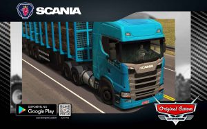SKIN SCANIA S 730 BLUEFUN EDITION