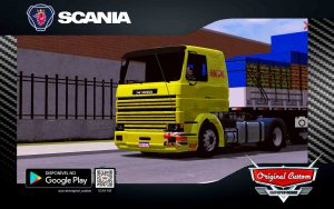 SKIN SCANIA 113 FRONTAL SKOL - WORLD TRUCK DRIVING SIMULATOR