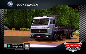 SKINS VOLKWAGEN TITAN 12-230 BRANCO - WORLD TRUCK DRIVING SIMULATOR