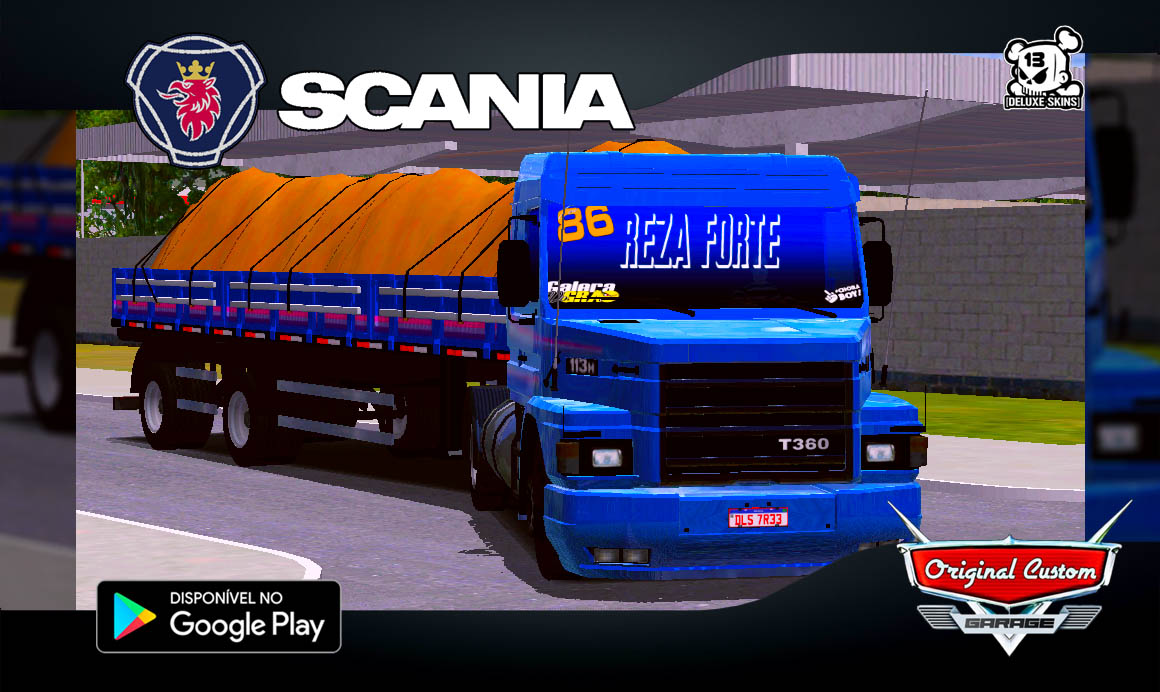 SCANIA 113H 60 ANOS - SKINS WTDS