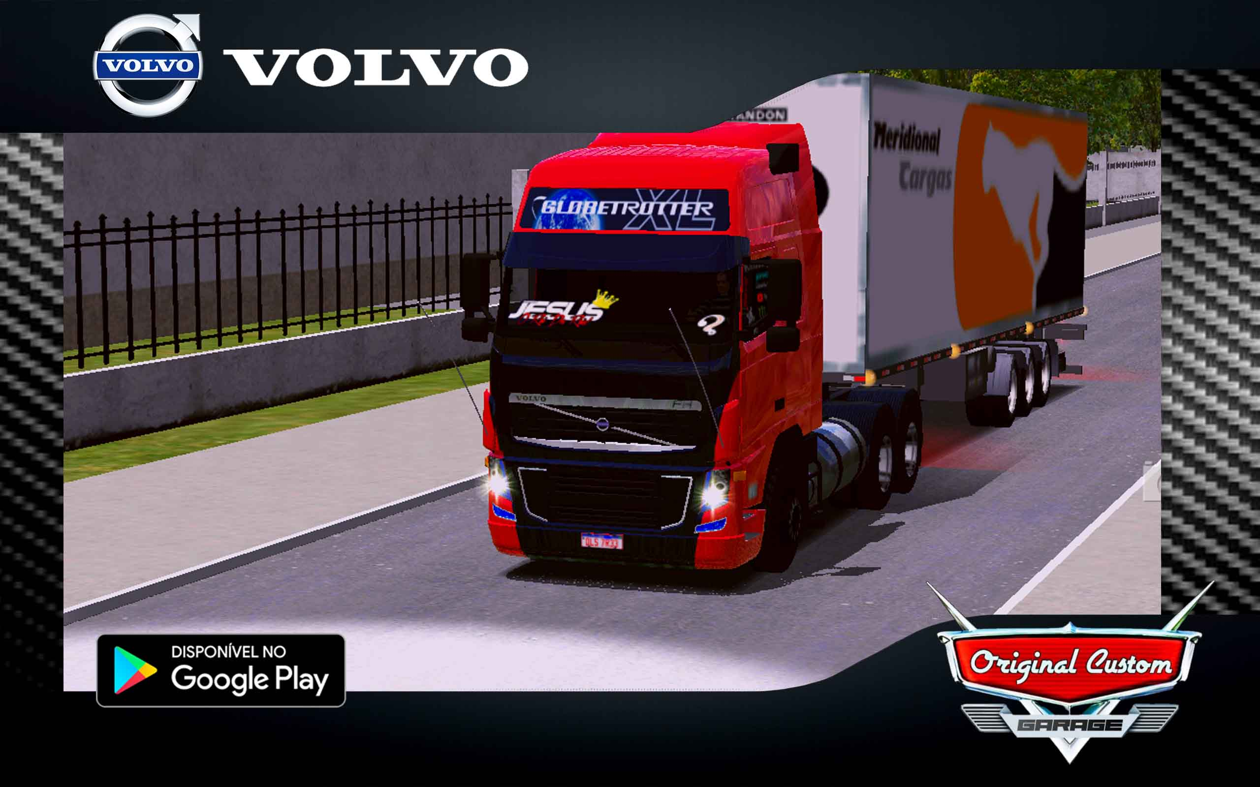 SKIN VOLVO FH 09 400 – SKINS WORLD TRUCK DRIVING SIMULATOR – SKINS WTDS