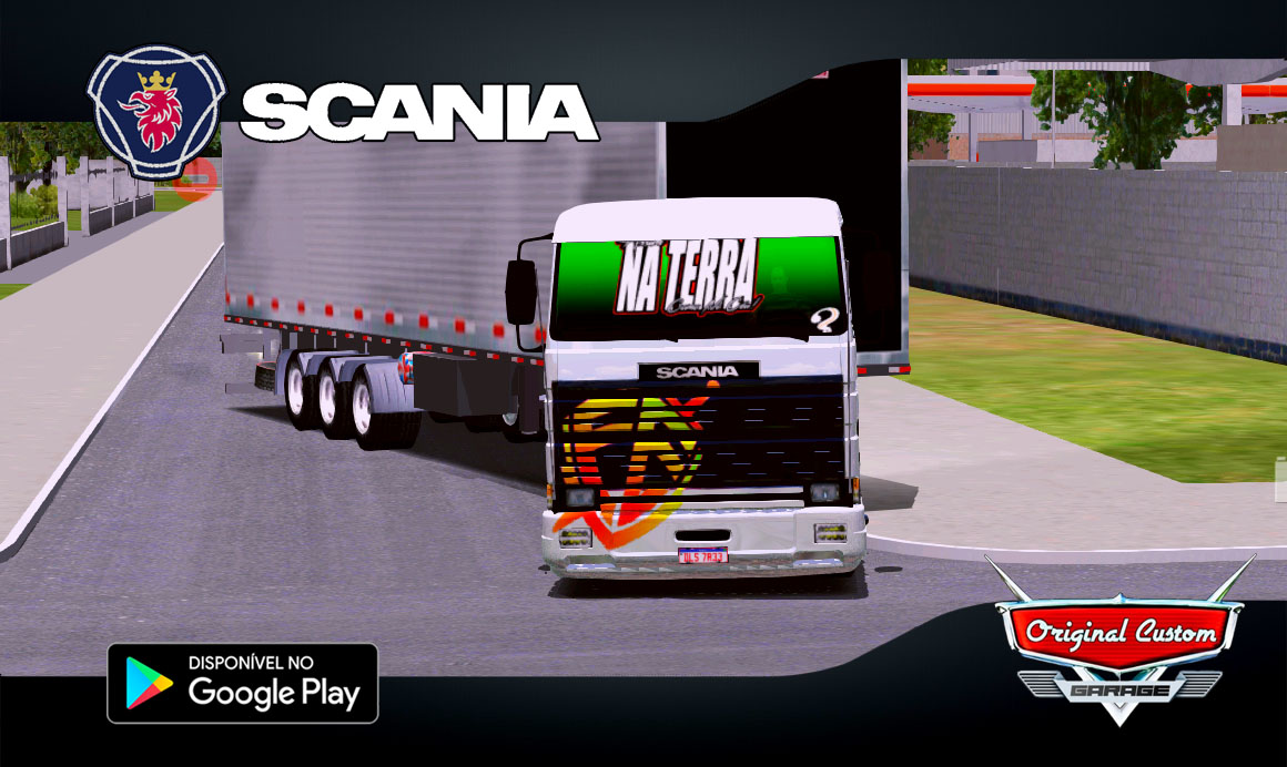 SKIN SCANIA 113 FRONTAL FÉ – WORLD TRUCK DRIVING SIMULATOR
