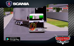 SKIN SCANIA 113 FRONTAL FÉ - WORLD TRUCK DRIVING SIMULATOR