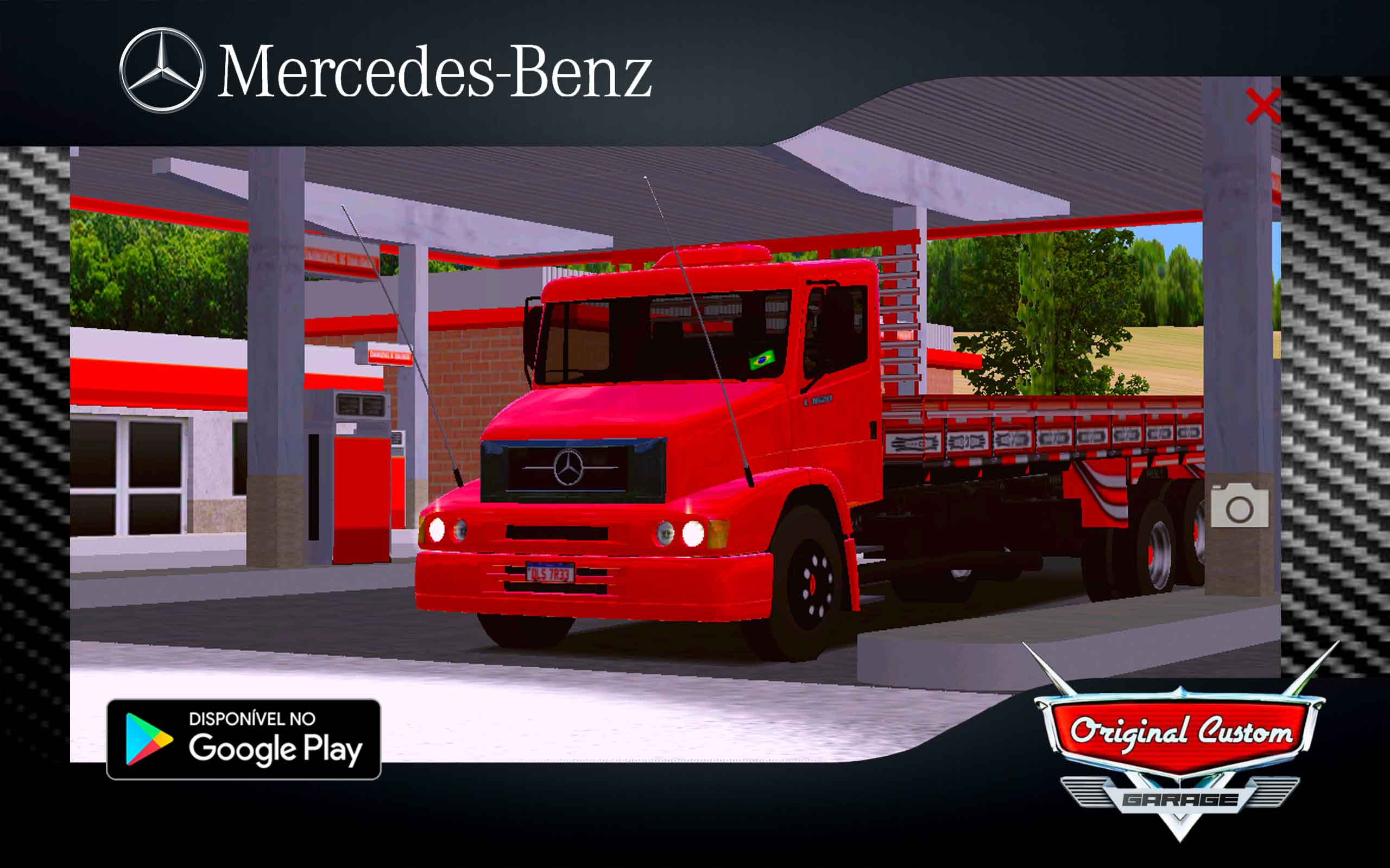SKIN MERCEDES-BENZ MB-1620 SAPECADO do RAU - SKINS WTDS