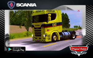 SKIN SCANIA S 730 CATERPILLER - SKINS WTDS