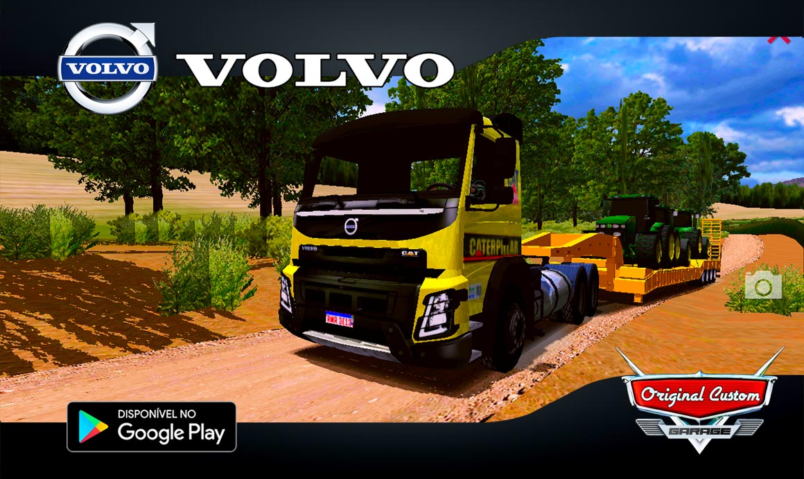 SKINS FMX CATERPILLAR – WORLD TRUCK DRIVING SIMULATOR – SKIN WTDS