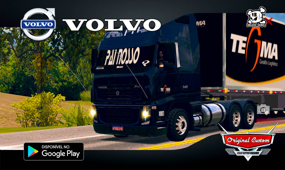 VOLVO FH09 TEGMA LIMPO – SKINS WTDS