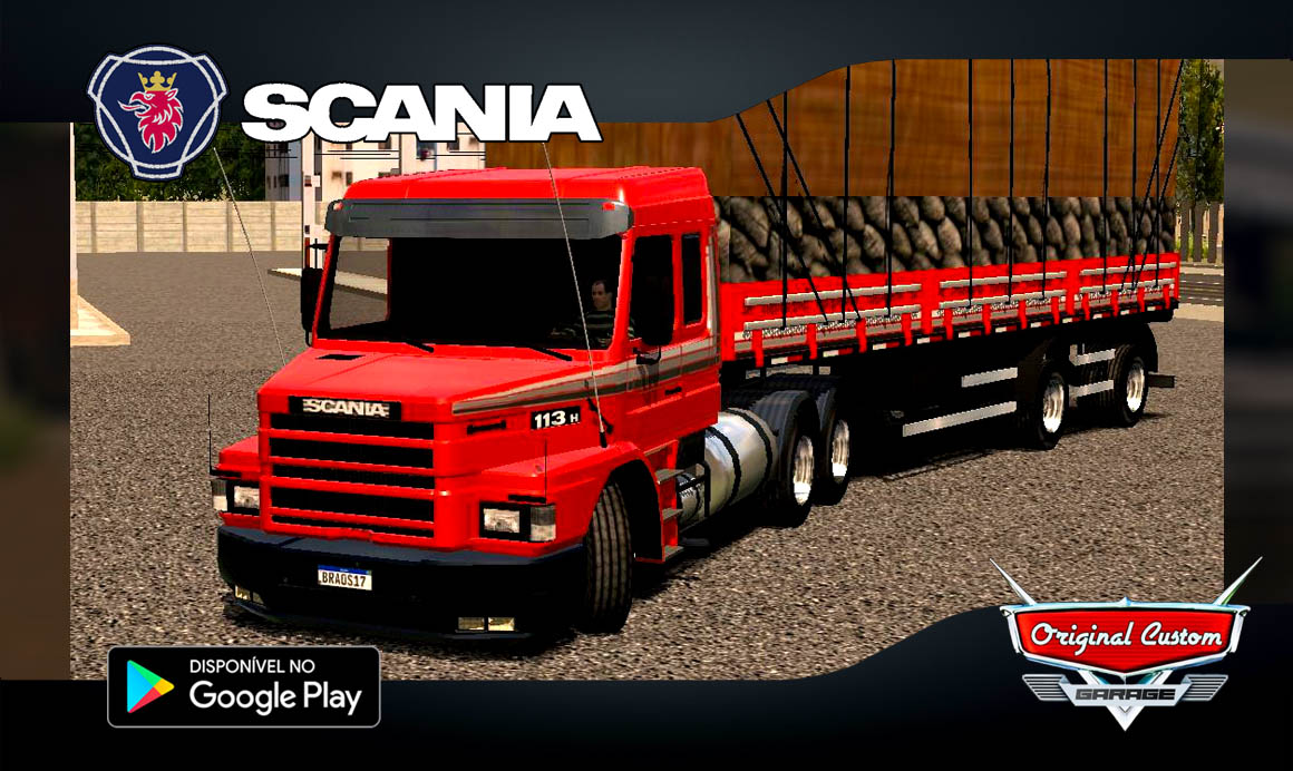 SCANIA 113H - SKINS WTDS