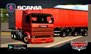 SCANIA 113 FRONTAL + SIDER - SKINS WTDS