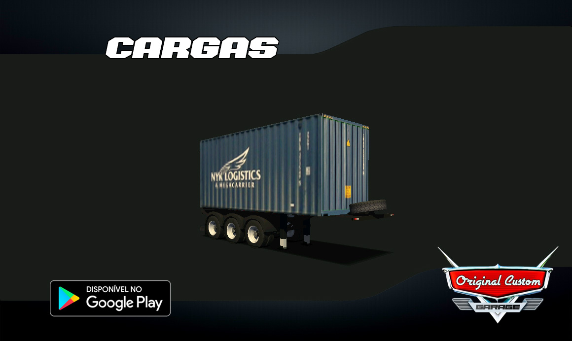 CONTRAINER 20 NYK LOGISTICS – SKINS WTDS