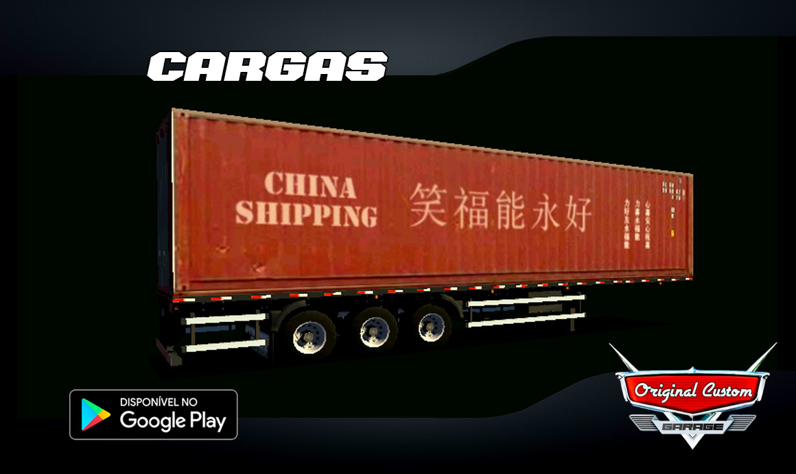 CONTRAINER CHINA SHIPPING  – SKINS WTDS