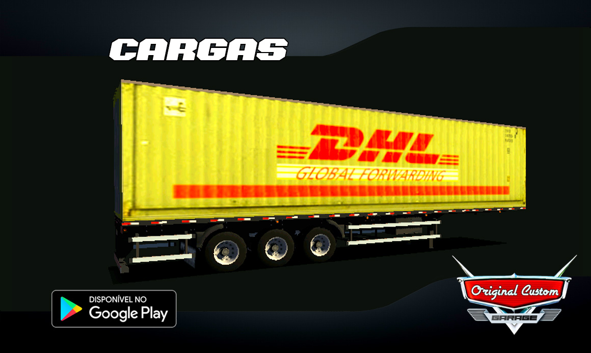CONTRAINER DHL GLOBAL - SKINS WTDS