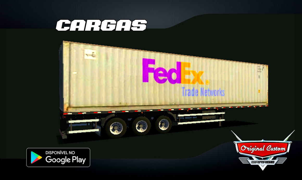 CONTRAINER FEDEX – SKINS WTDS