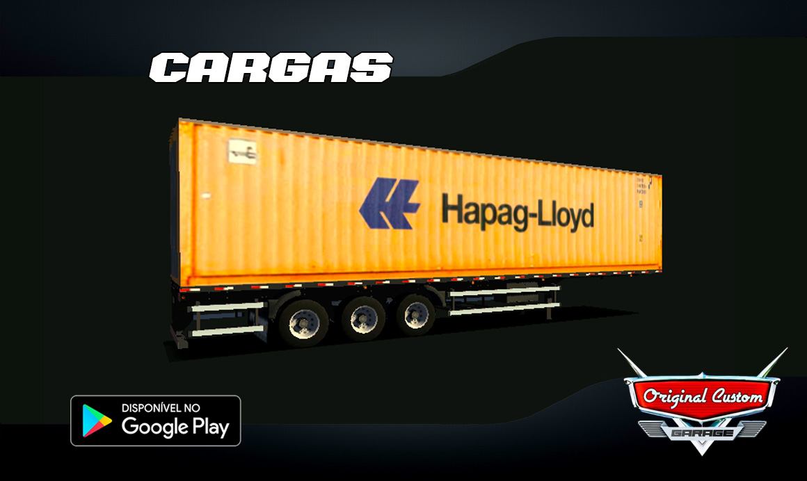 CONTRAINER HAPAG-LLOYD  – SKINS WTDS