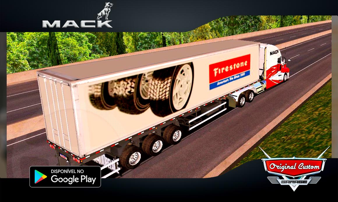 MACK ANTHEM FIRESTONE – SKINS WTDS