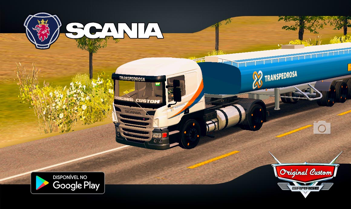 SCANIA P310 TRANSPEDROSA – SKINS WTDS