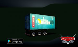 SKINS WTDS CONTAINER 20 METROS SUNNY EXPRESS WORLD TRUCK DRIVING