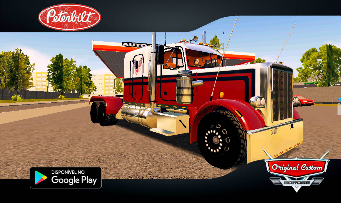 PETERBILT  – SKINS WORLD TRUCK DRIVING