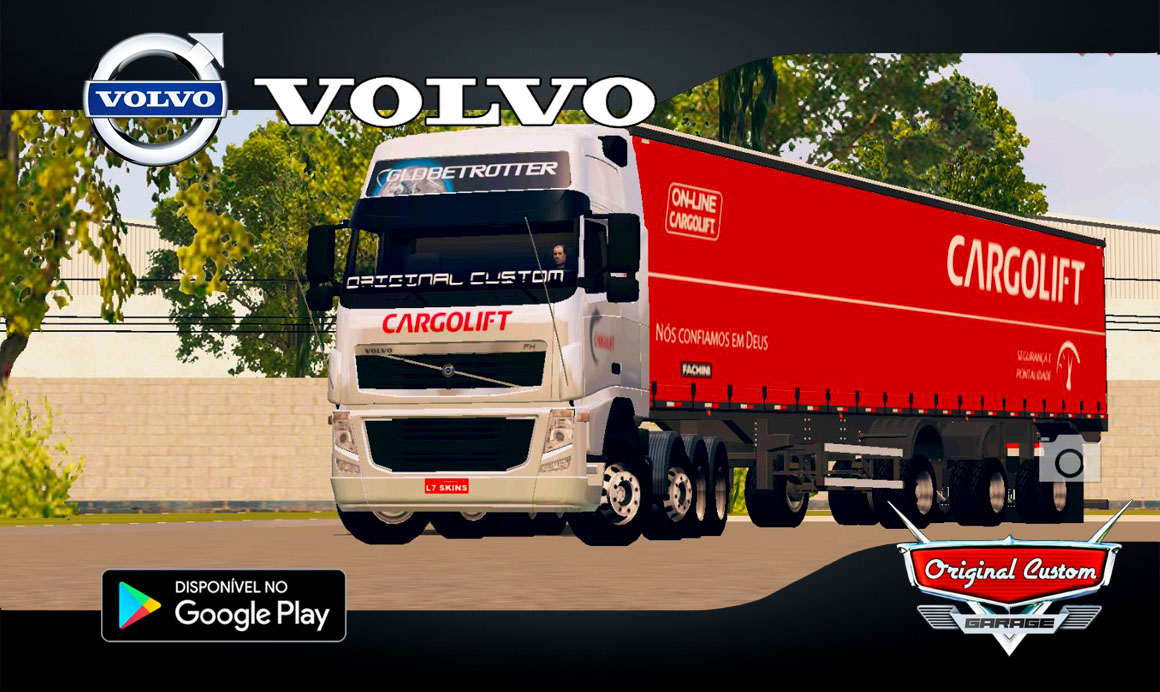 VOLVO FH09 CARGOLIFT – SKINS WTDS