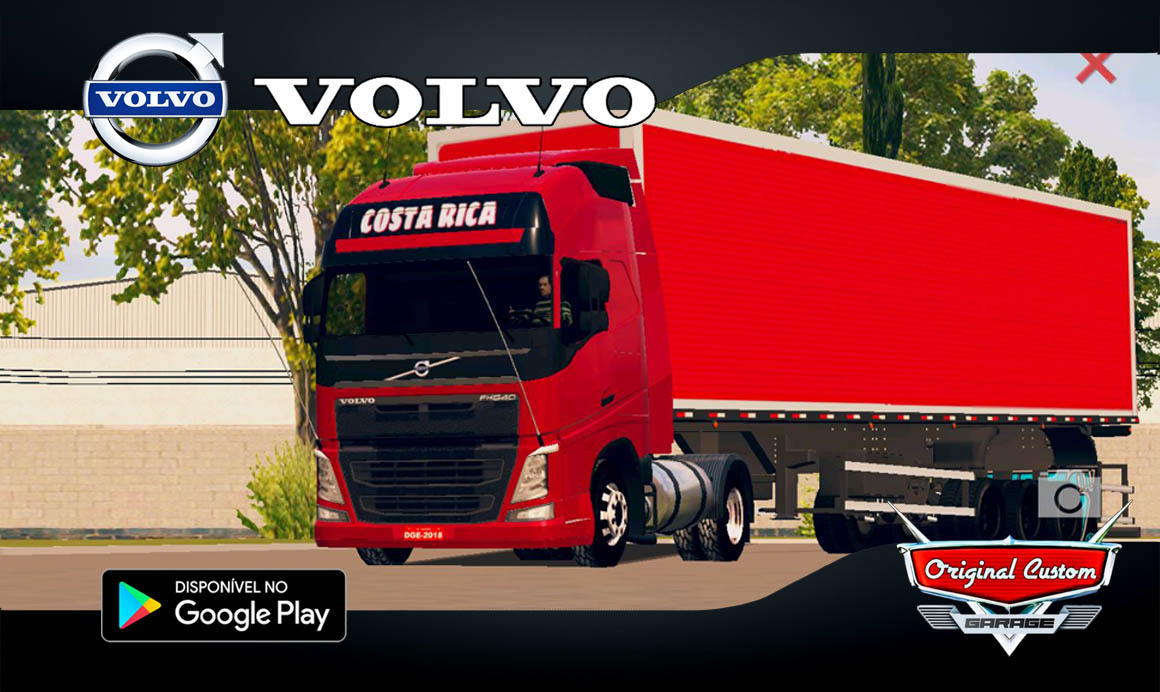 VOLVO FH09 COSTA RICA – SKINS WTDS