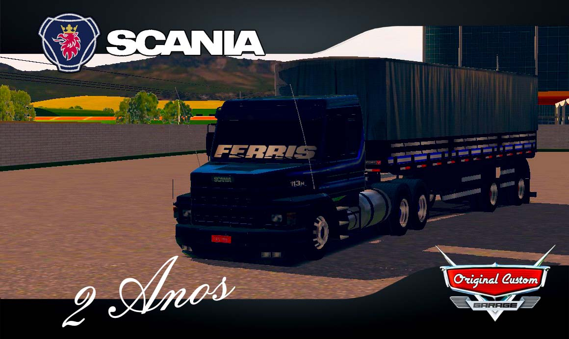 SCANIA 113H – SKINS WTDS