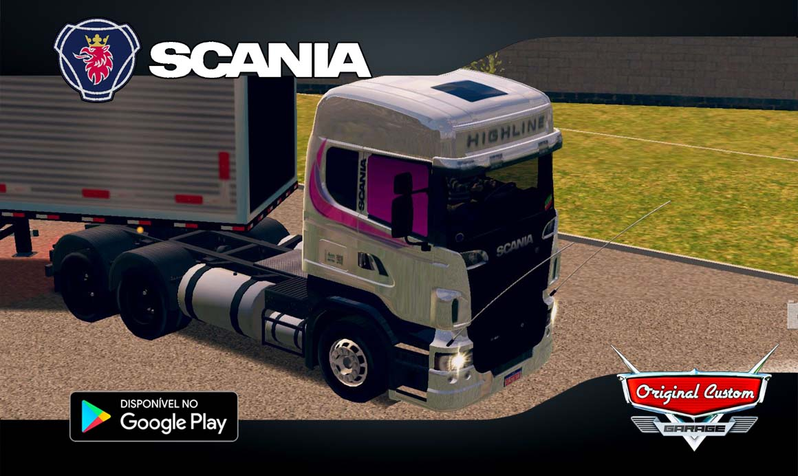 SCANIA R  – SKINS WTDS