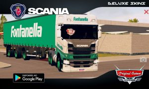 SKINS WTDS SCANIA S FONTANELLA WORLD TRUCK DRIVING SIMULATOR