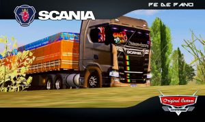 SCANIA QUALIFICADA - SKINS WTDS