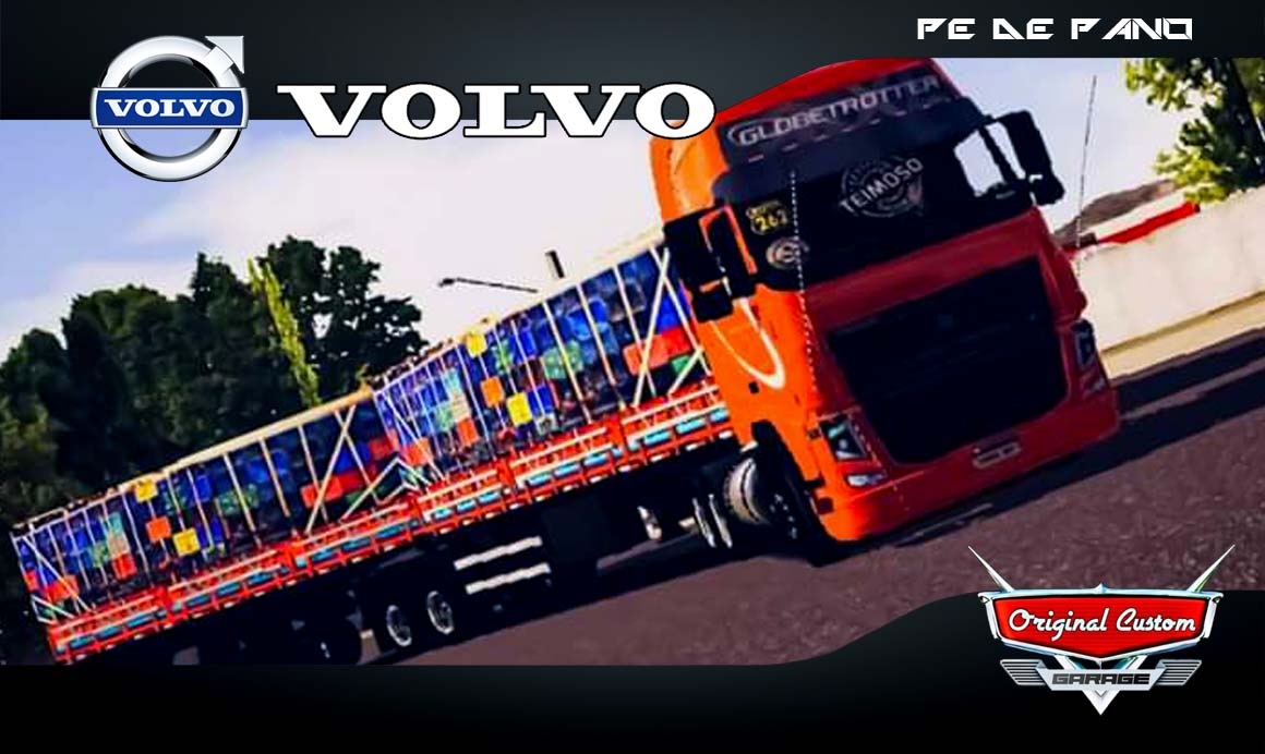 VOLVO FH16 – SKINS WTDS