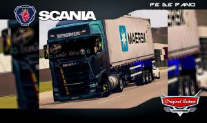 SCANIA S730 QUALIFICADA - SKINS WTDS