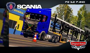 SCANIA S730 - SKINS WTDS