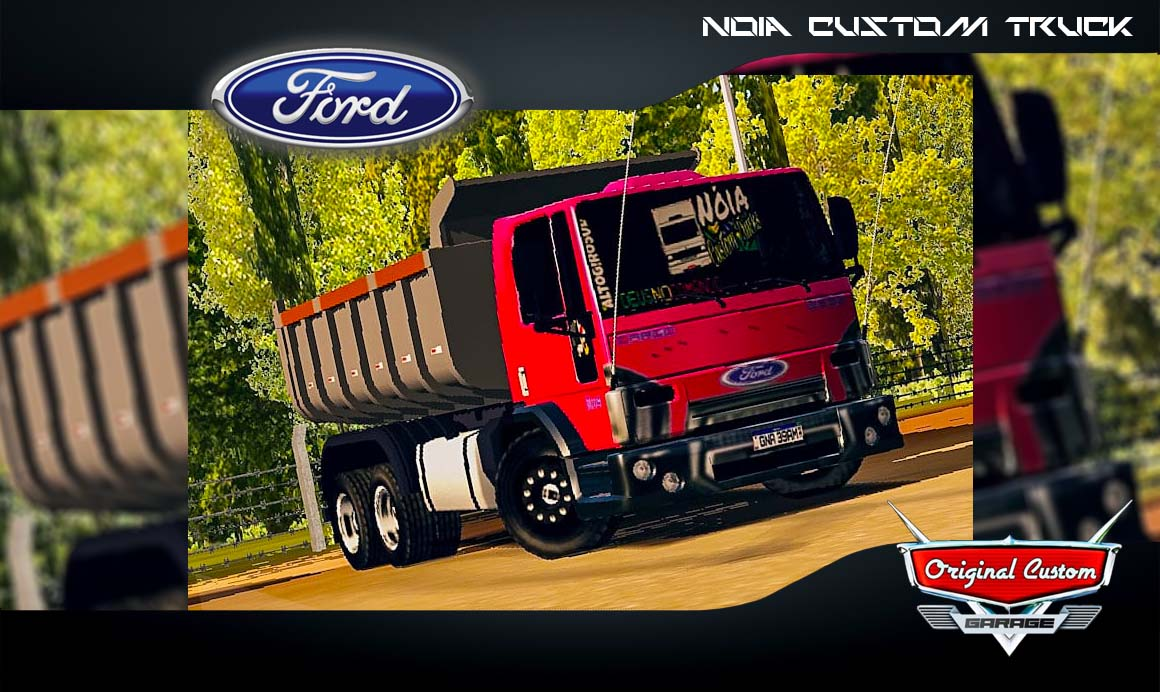 SKINS WORLD TRUCK DRIVING SIMULATOR – CARGO NÓIA CUSTOM