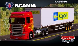 SKINS WORLD TRUCK DRIVING SIMULATOR - SCANIA r420 HEROIS
