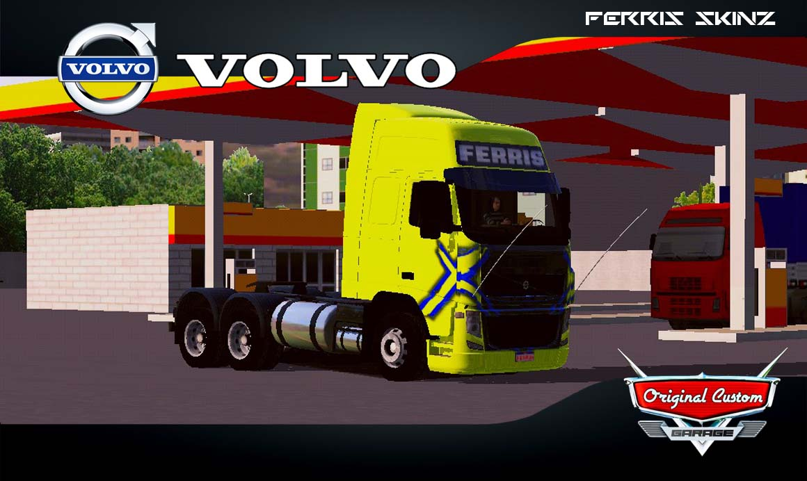 SKINS WORLD TRUCK DRIVING SIMULATOR – VOLVO FH
