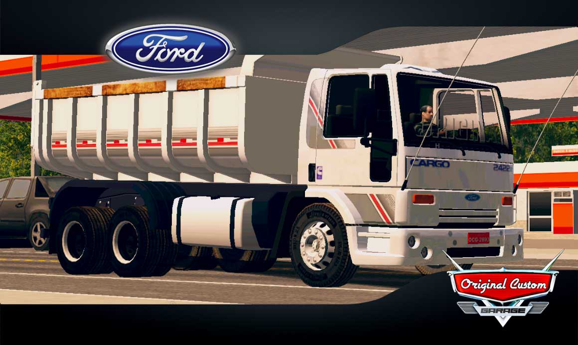 SKINS WORLD TRUCK DRIVING SIMULATOR – CARGO CAÇAMBA
