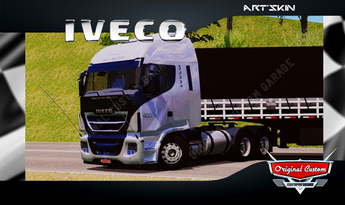 SKINS WORLD TRUCK DRIVING – IVECO HI-WAY 400