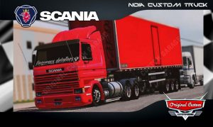 SKINS WORLD TRUCK DRIVING - SCANIA 113 FRONTAL
