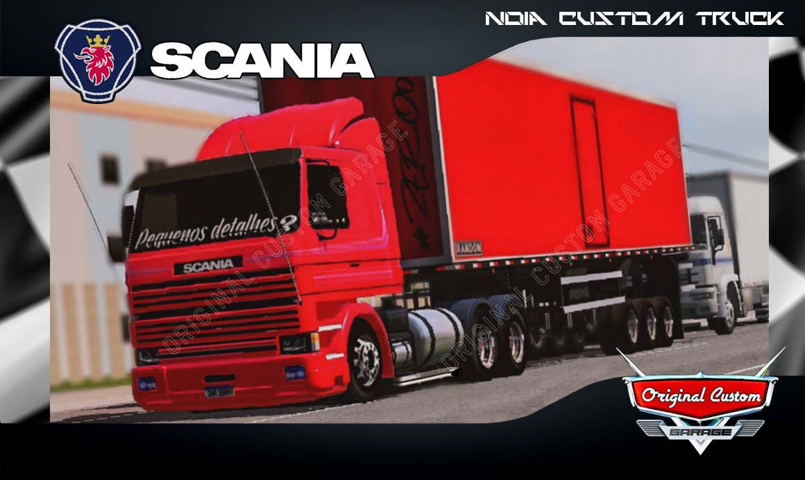 SKINS WORLD TRUCK DRIVING – SCANIA 113 FRONTAL